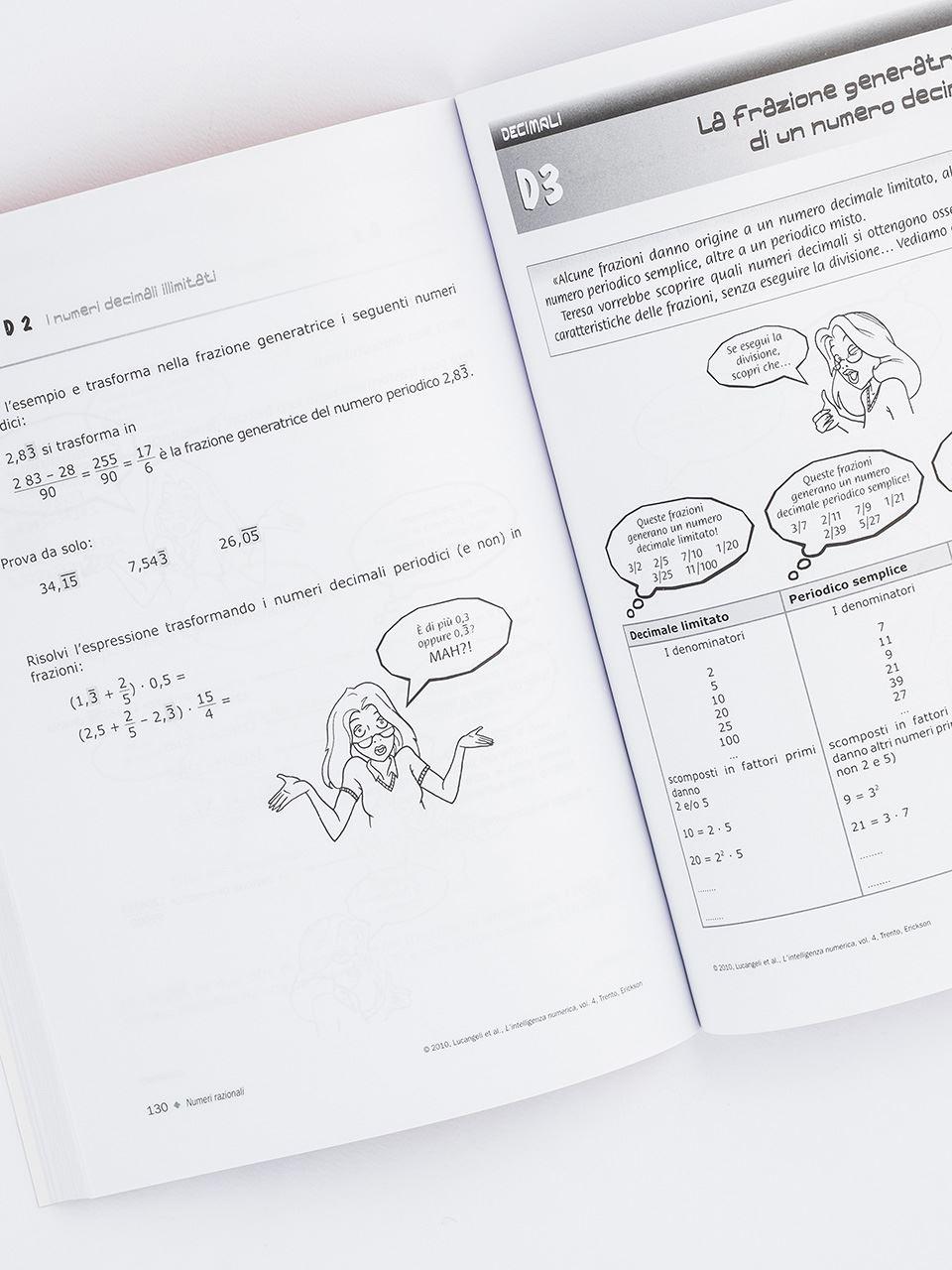 L'intelligenza numerica - Volume 4 - Libri - Erickson 2