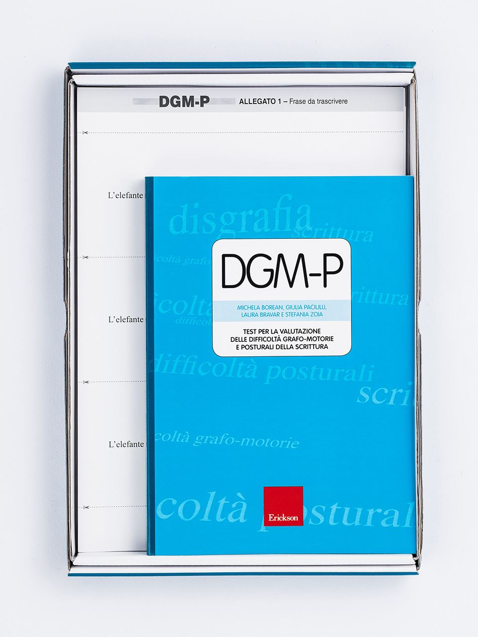 Test DGM-P - Test per la valutazione delle diffico - Libri - Erickson 2