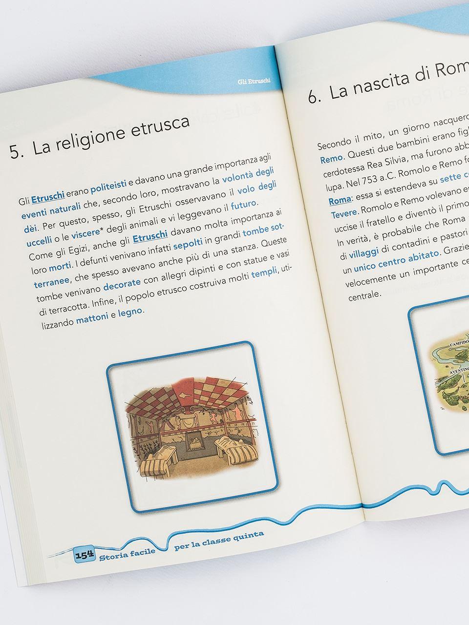 Storia facile per la classe quinta - Libri - App e software - Erickson 2