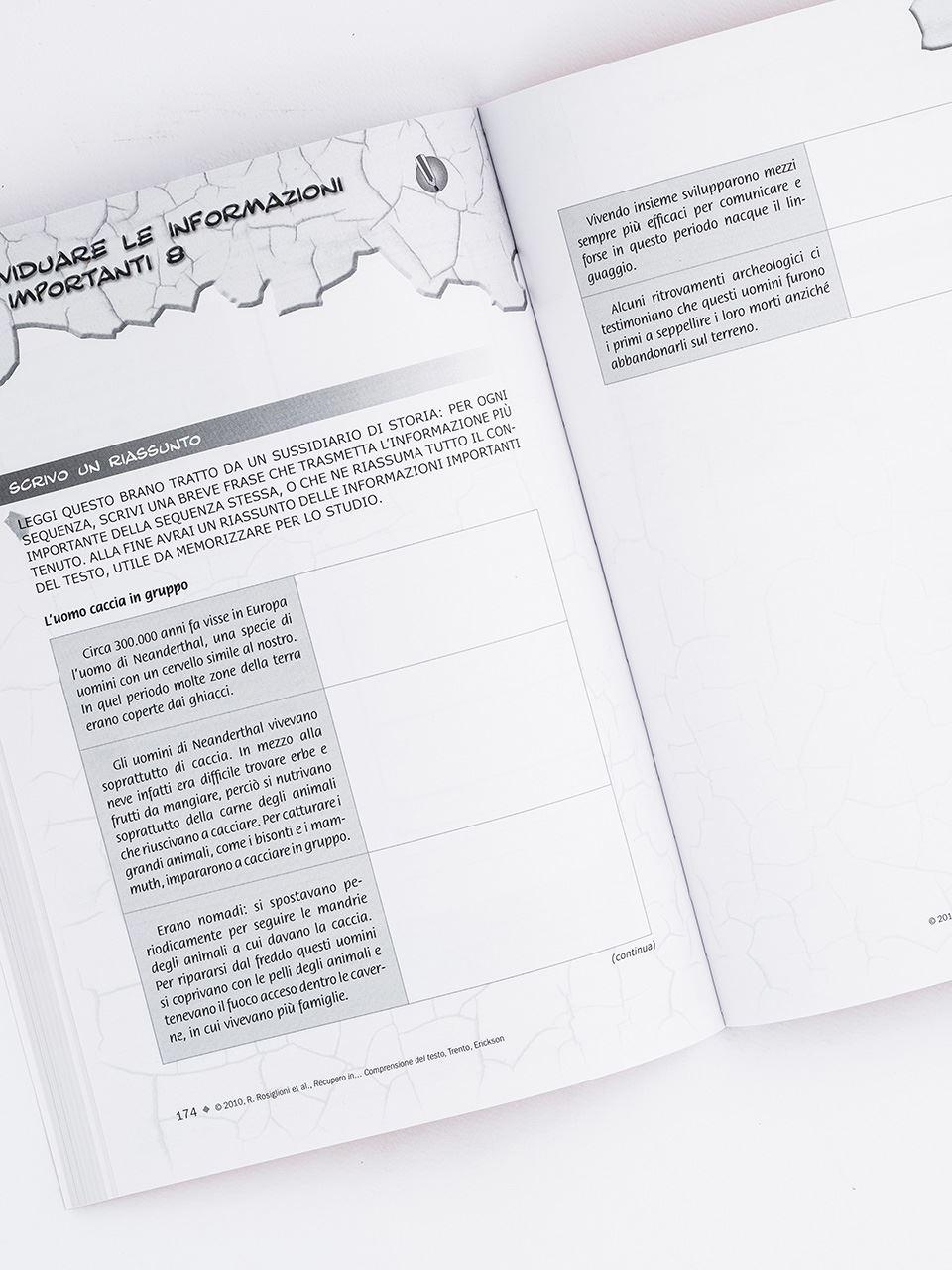 RECUPERO IN... Comprensione del testo - Libri - App e software - Erickson 2