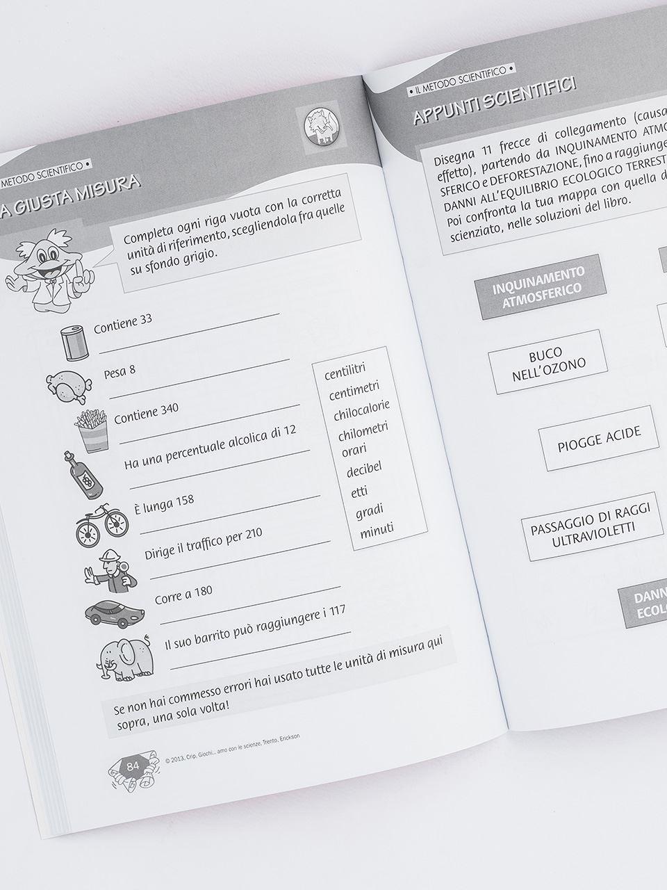 Giochi... amo con le scienze - Scuola primaria - Libri - App e software - Erickson 2