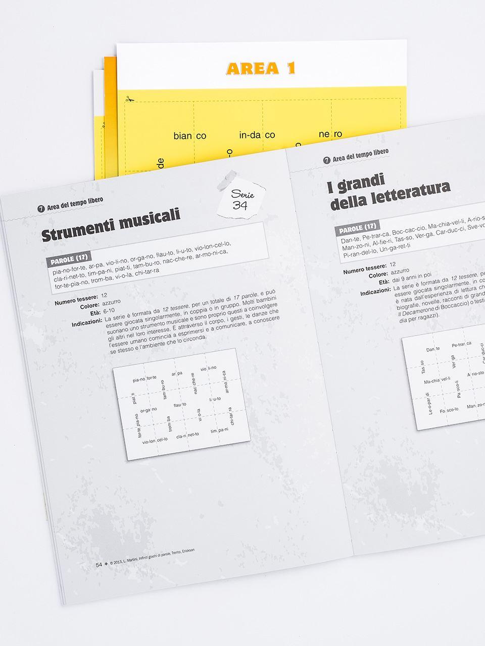 Infiniti giochi di parole - Libri - App e software - Erickson 2