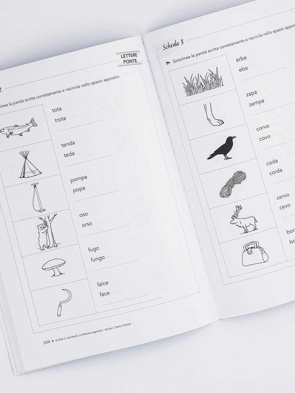 Le difficoltà ortografiche - Volume 3 - Libri - App e software - Erickson 4
