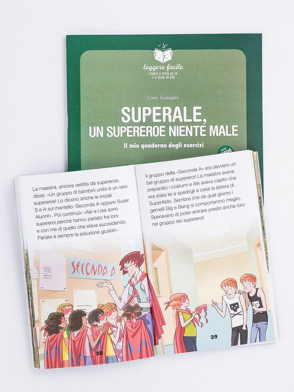 SuperAle, un supereroe niente male - Libri - Erickson 2