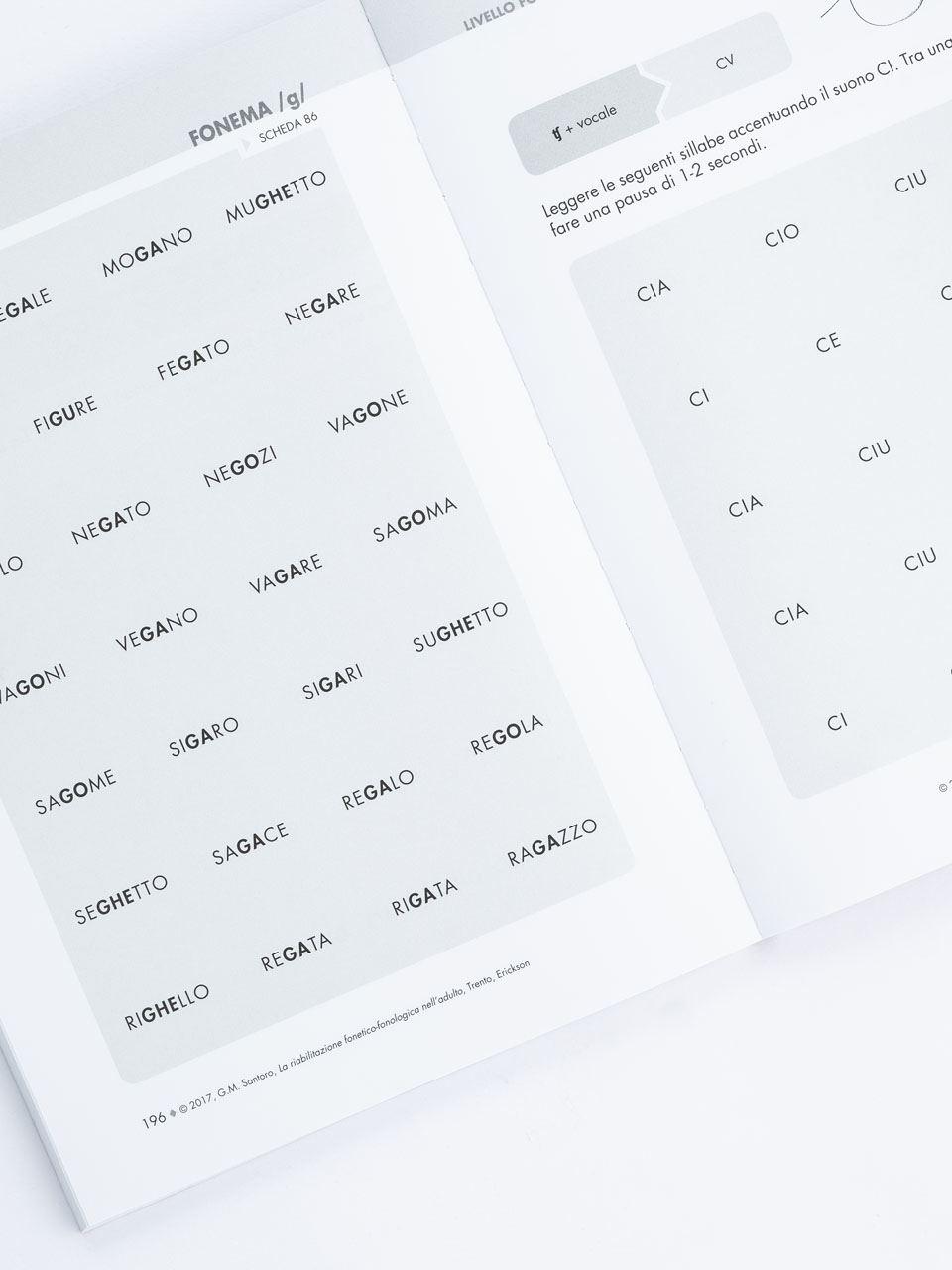 La riabilitazione fonetico-fonologica nell'adulto - Libri - Erickson 3