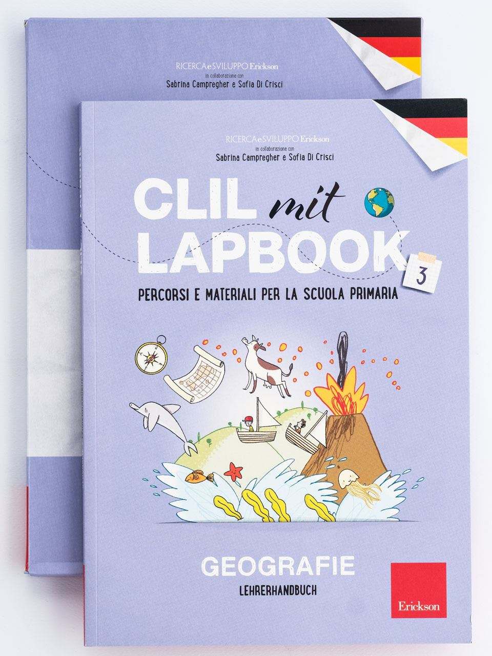 CLIL mit LAPBOOK - Geografie - Classe terza - Libri - Erickson 2