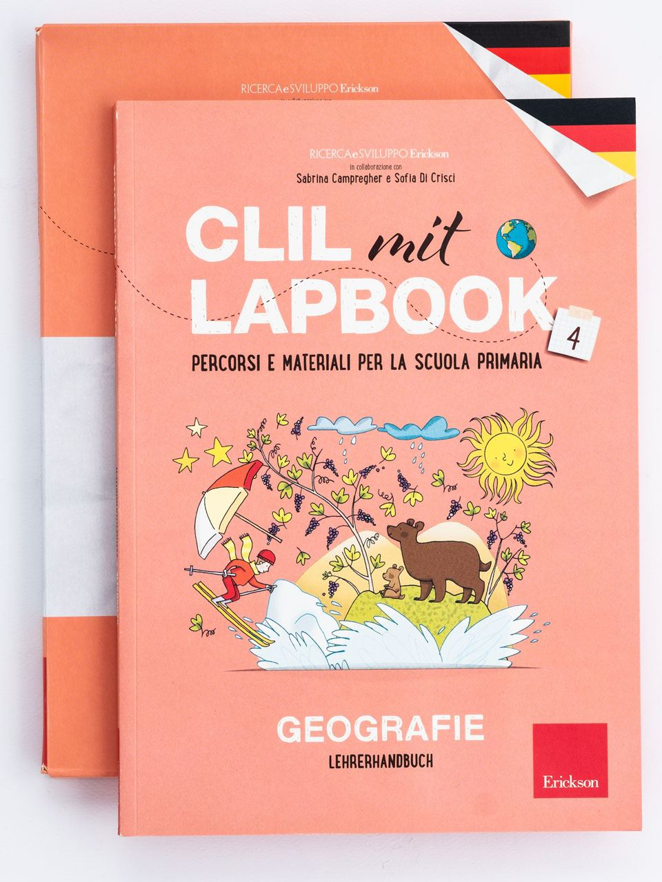 CLIL mit LAPBOOK - Geografie - Classe quarta - Libri - Erickson 2