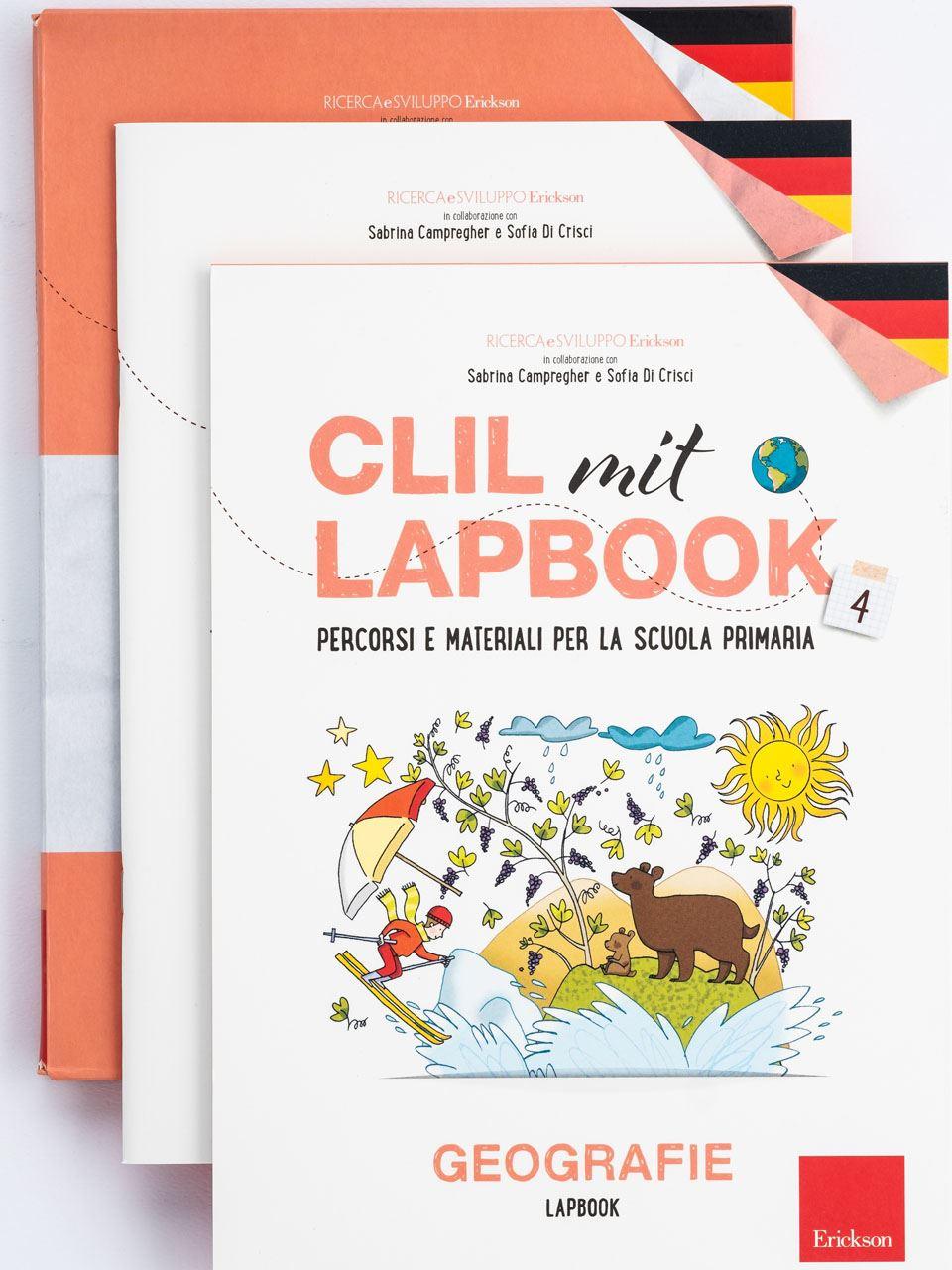 CLIL mit LAPBOOK - Geografie - Classe quarta - Libri - Erickson 3