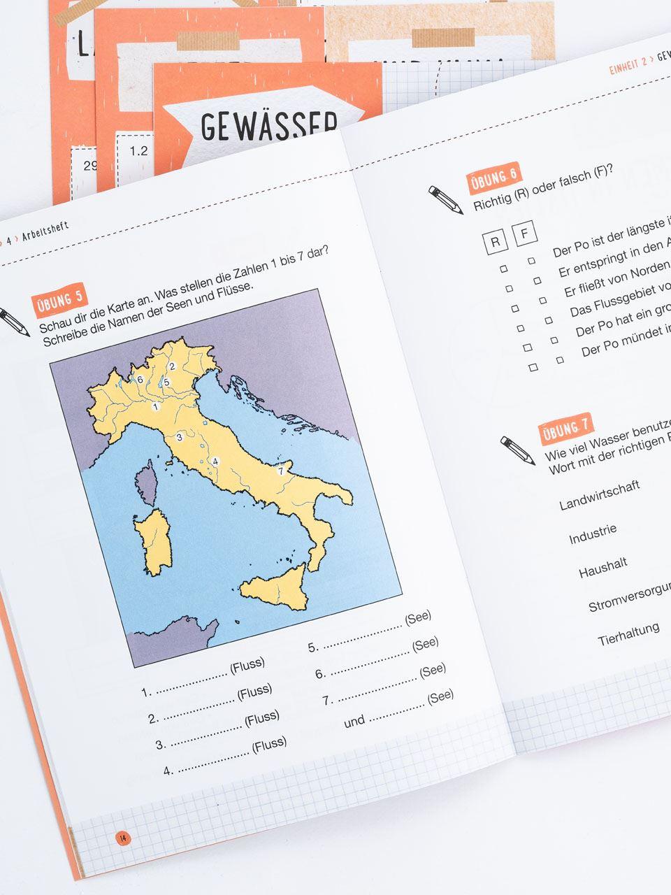 CLIL mit LAPBOOK - Geografie - Classe quarta - Libri - Erickson 4