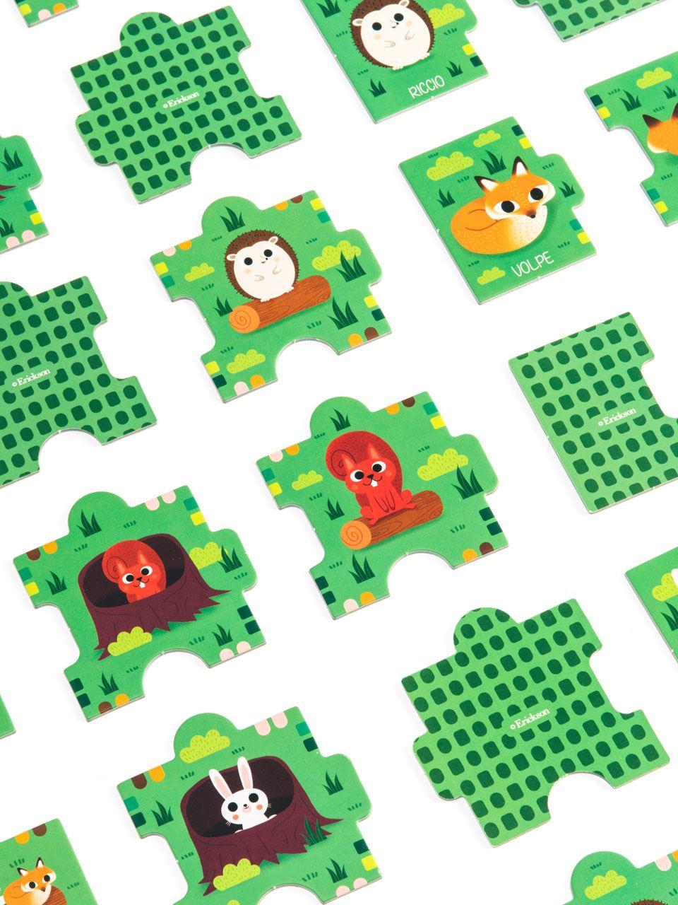 Dove sono gli animali del bosco - Giochi - Erickson 3