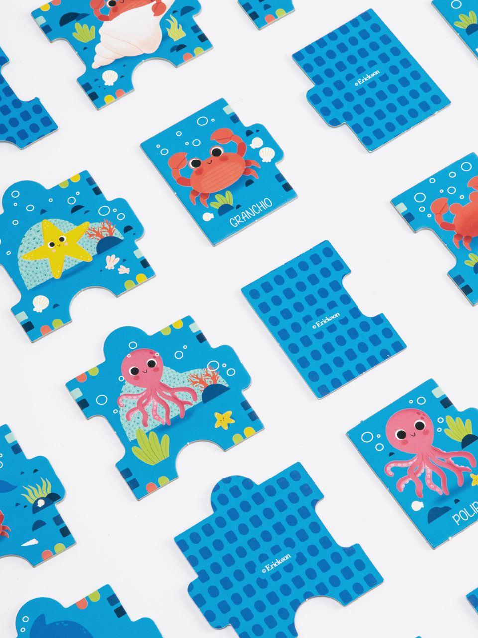 Dove sono gli animali del mare - Giochi - Erickson 3