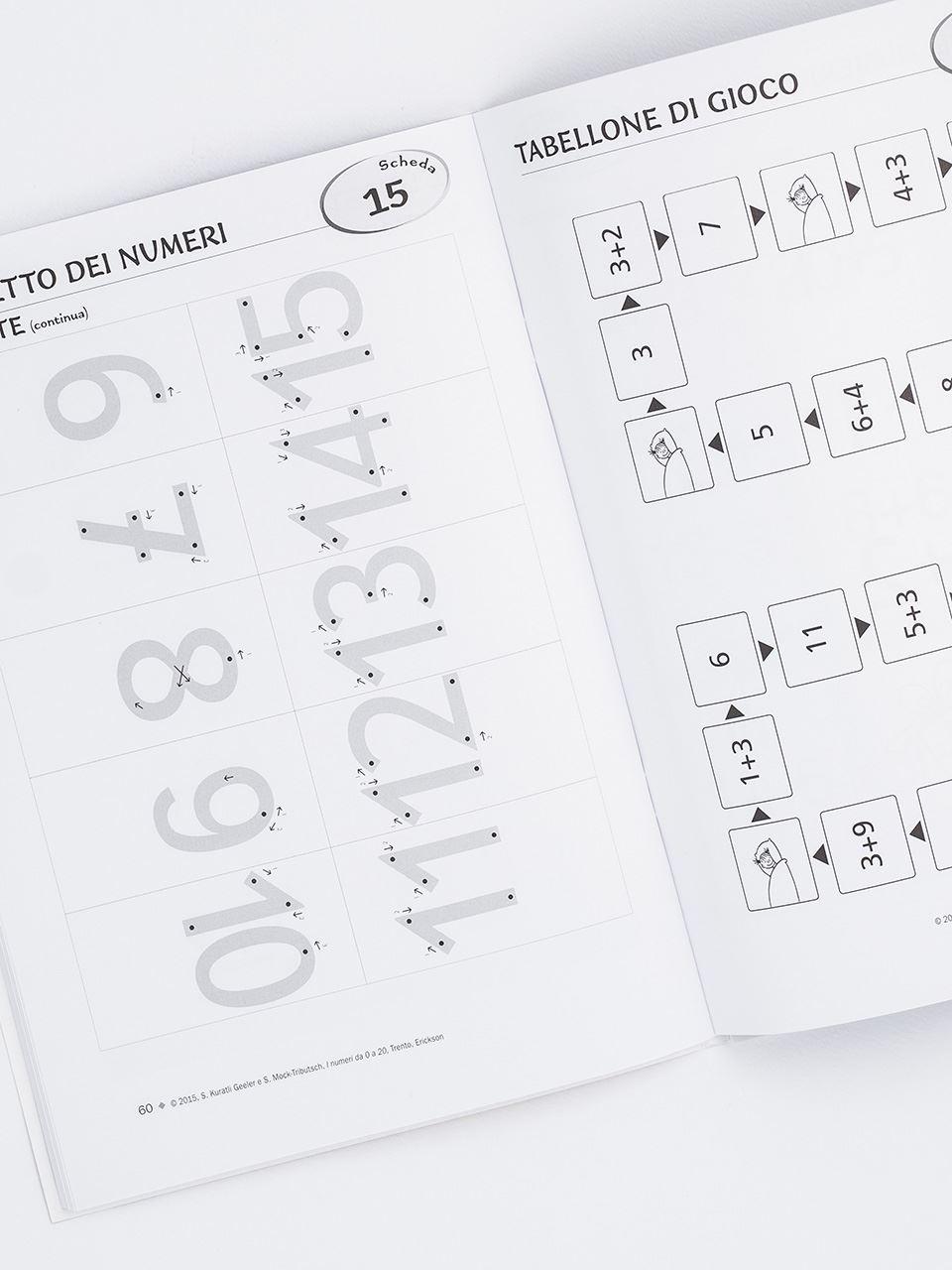 I numeri da 0 a 20 (Serie: Matematica in pratica) - Libri - Erickson 2