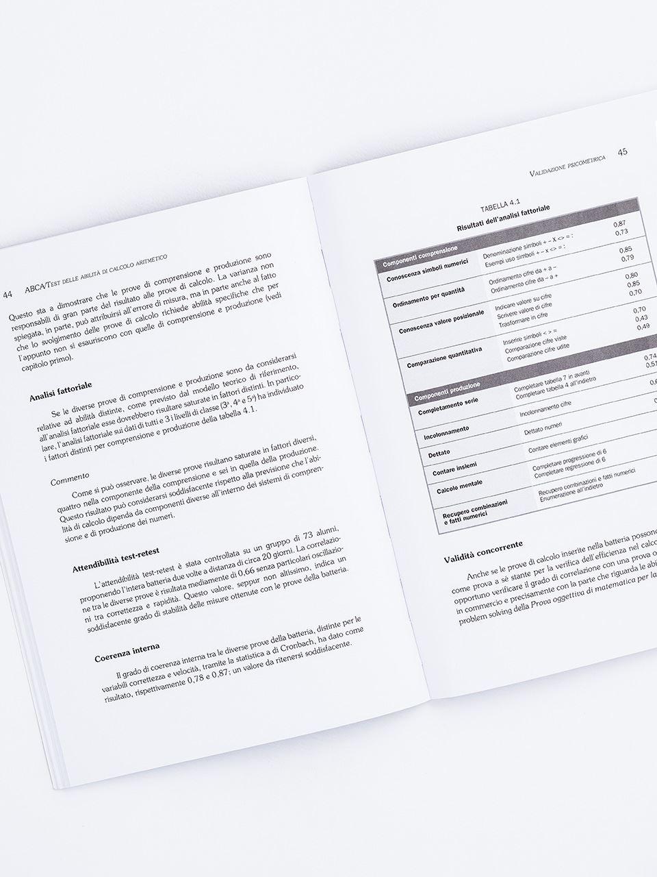 Test ABCA - Abilità di calcolo aritmetico - Libri - Erickson 2