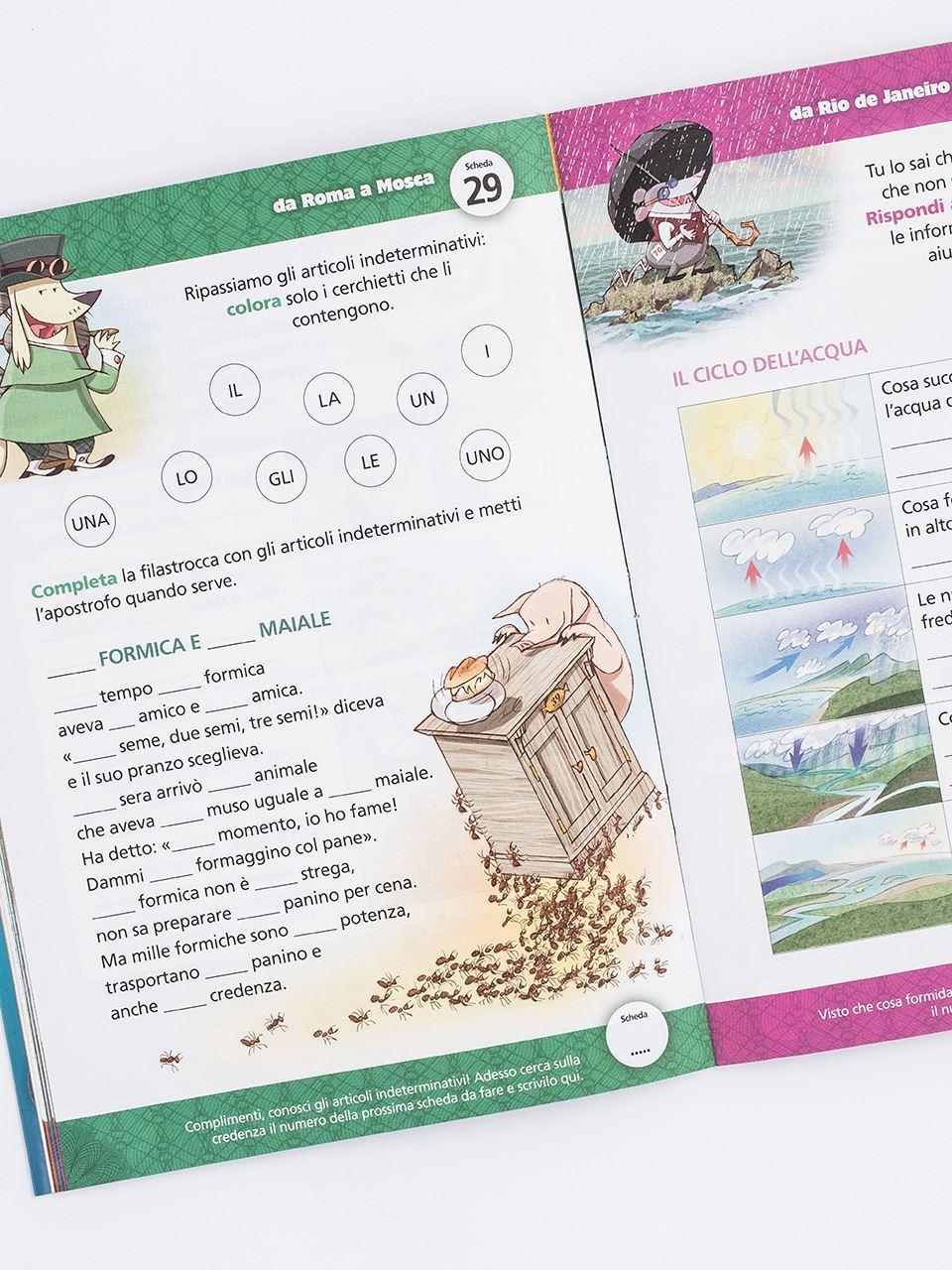 various colors 478c8 1bb20 Il giro dei compiti in 80 giorni - Classe seconda - Libri - Erickson