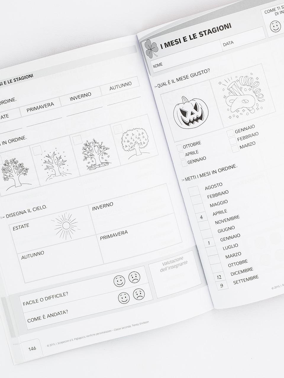 Verifiche personalizzate - Classe seconda - Libri - Erickson 2