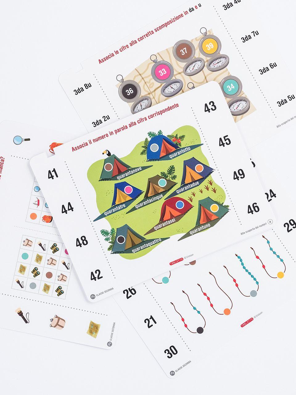 Schede per Tablotto (6-8 anni) - Alla scoperta dei - Giochi - Erickson 2