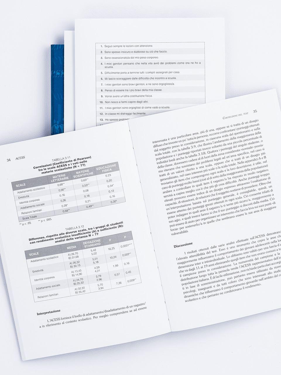 Test ACESS - Analisi degli indicatori cognitivo-em - Libri - Strumenti - Erickson 2