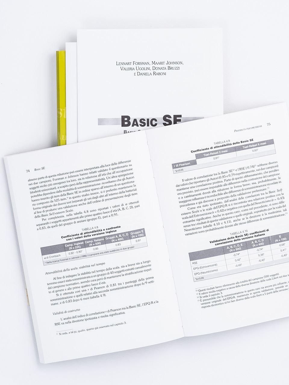 Basic SE Basic Self-Esteem Scale - Libri - Erickson 2