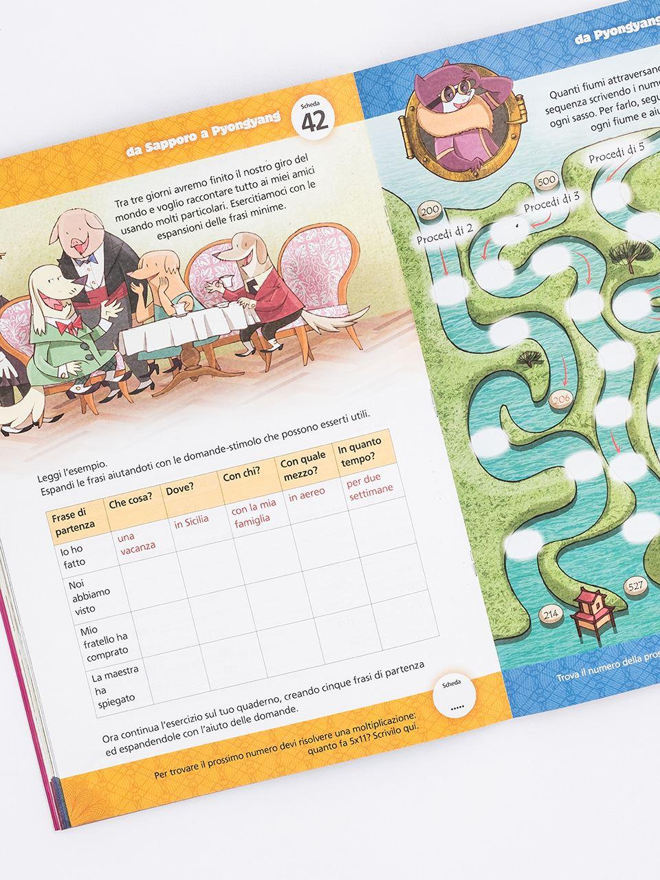 Il giro dei compiti in 80 giorni - Classe terza - Libri - Erickson 2