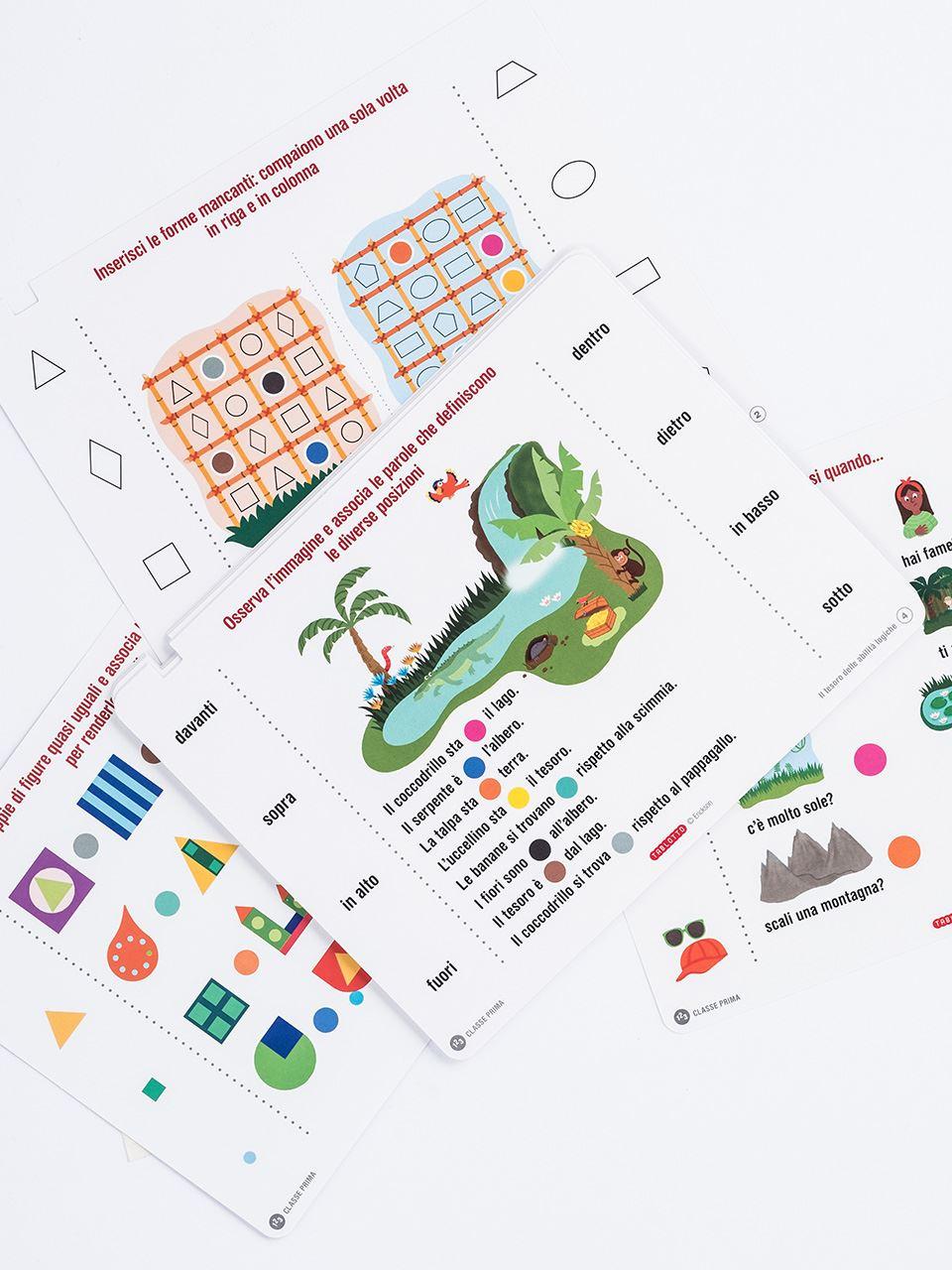 Schede per Tablotto (6-8 anni) - Il tesoro delle a - Giochi - Erickson 2