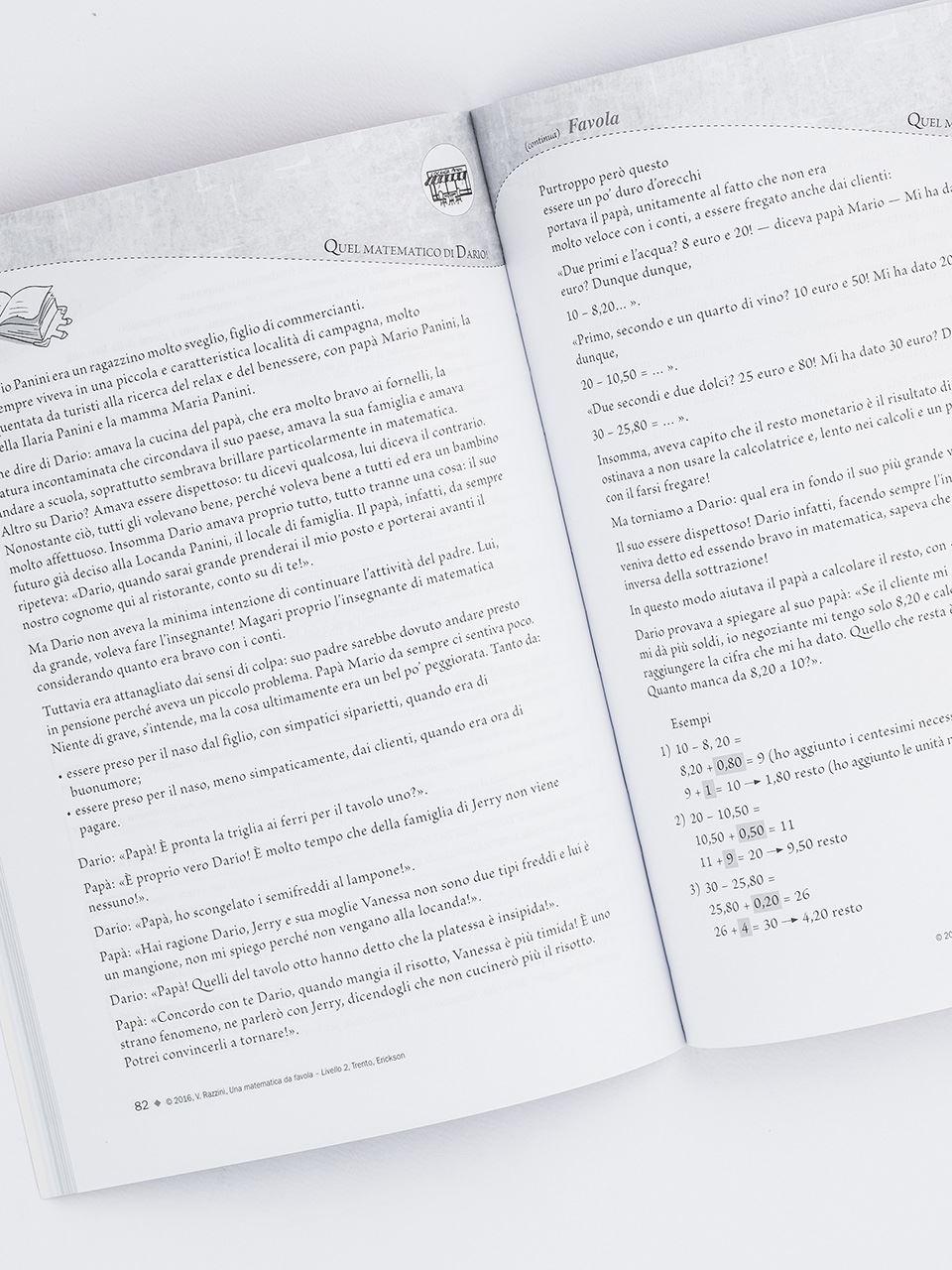 Una matematica da favola - Livello 2 - Scuola Prim - Libri - Erickson 2