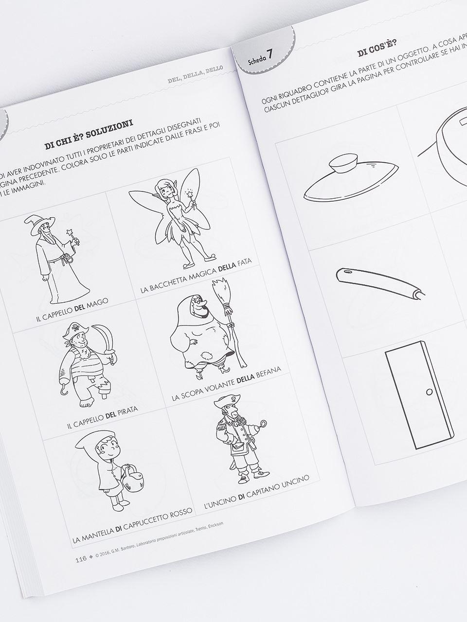 Laboratorio preposizioni articolate - Libri - Erickson 2