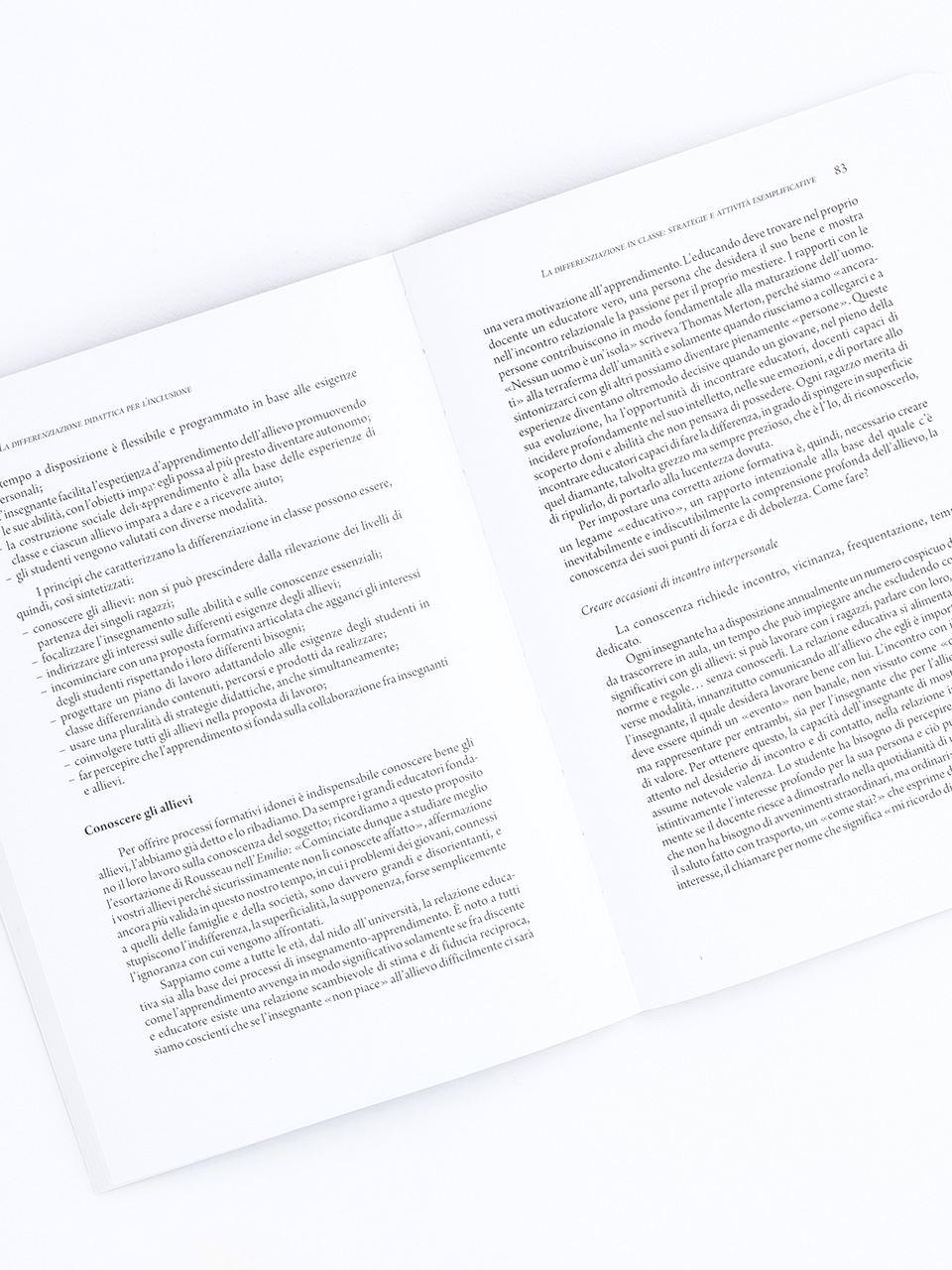 La differenziazione didattica per l'inclusione - Libri - Erickson 2