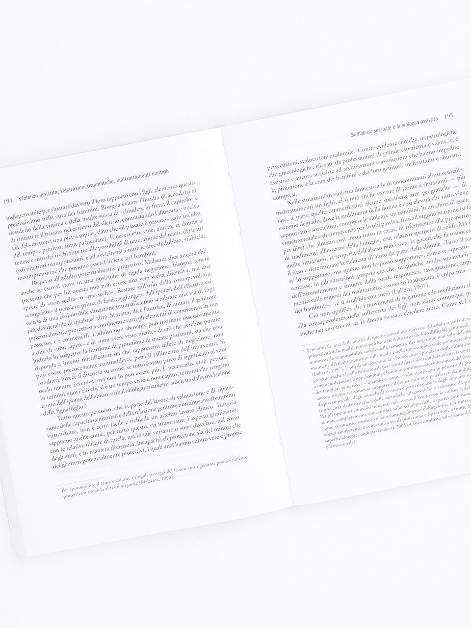 Violenza assistita, separazioni traumatiche, maltr - Libri - Erickson 2