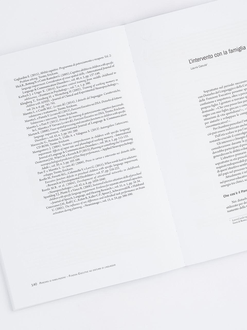 Percorsi di riabilitazione - Funzioni esecutive ne - Libri - Erickson 2
