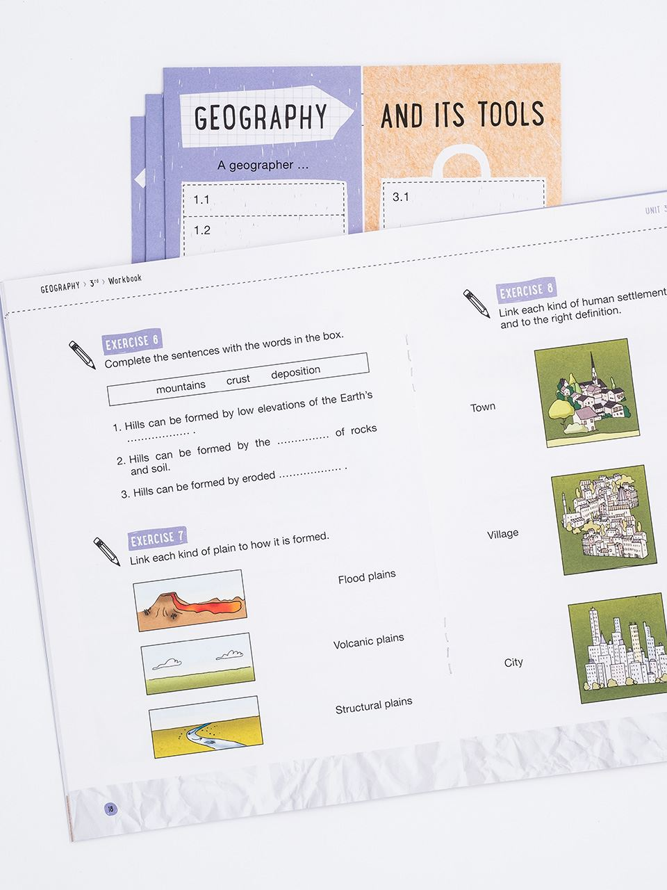CLIL with LAPBOOK - GEOGRAPHY - Classe terza - Libri - Erickson 4
