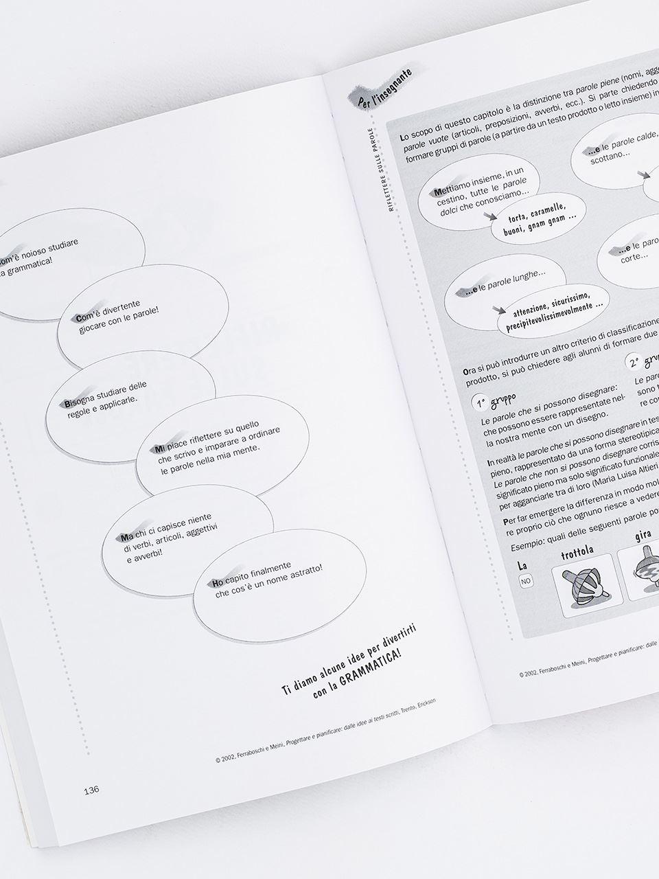 Progettare e pianificare: dalle idee ai testi scri - Libri - Erickson 2