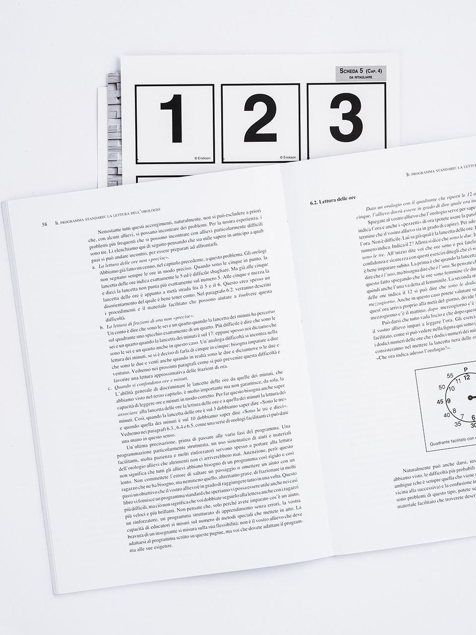 Imparo a... leggere l'orologio - Libri - Strumenti - App e software - Erickson 2