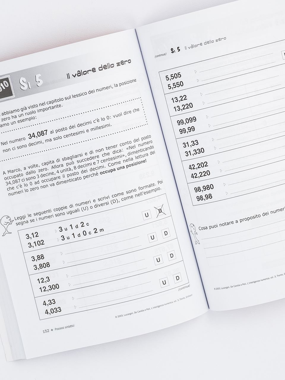 L'intelligenza numerica - Volume 3 - Libri - Erickson 2