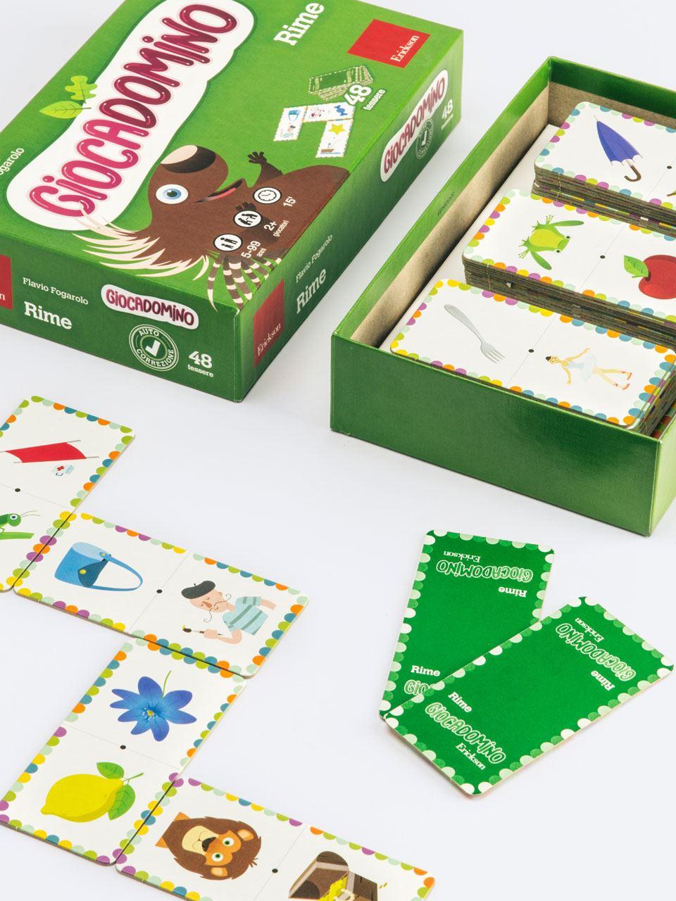 Giocadomino - Rime - Giochi - Erickson 2