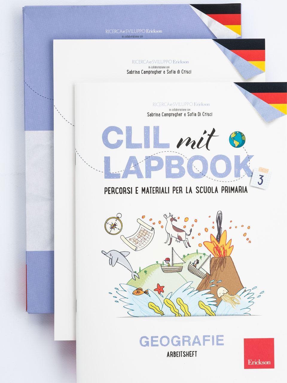 CLIL mit LAPBOOK - Geografie - Classe terza - Libri - Erickson 5