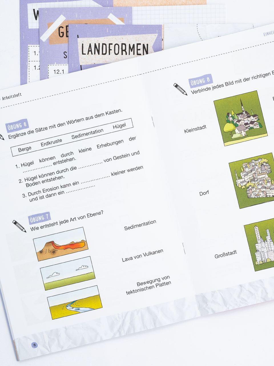 CLIL mit LAPBOOK - Geografie - Classe terza - Libri - Erickson 6
