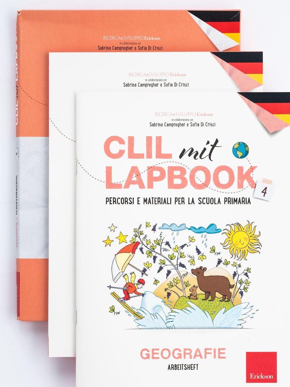 CLIL mit LAPBOOK - Geografie - Classe quarta - Libri - Erickson 6