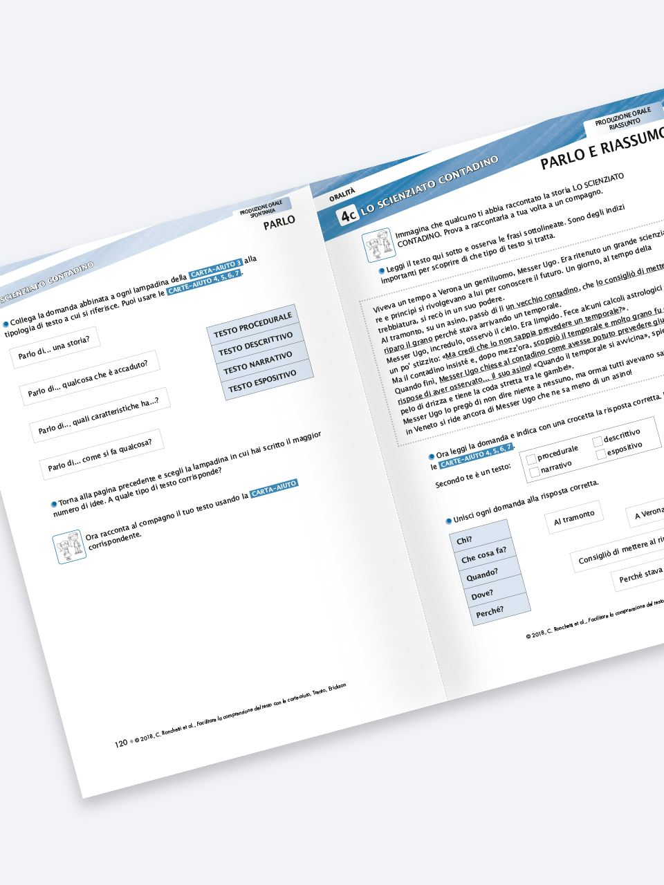 Facilitare la comprensione del testo con le carte- - Libri - Erickson 2
