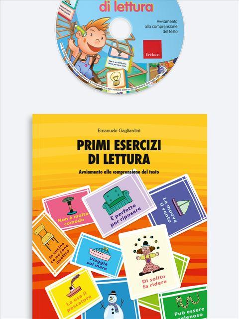 Primi esercizi di lettura - App e software per Scuola, Autismo, Dislessia e DSA - Erickson 3