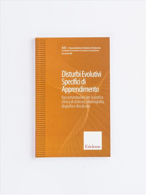 Disturbi Evolutivi Specifici di Apprendimento - Prassie - Erickson