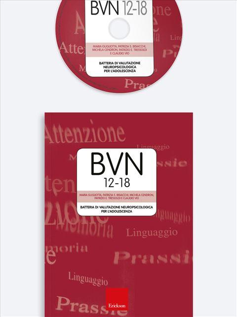BVN 12-18 - Test multicomponenziale per funzioni cognitive, ADHD - Erickson