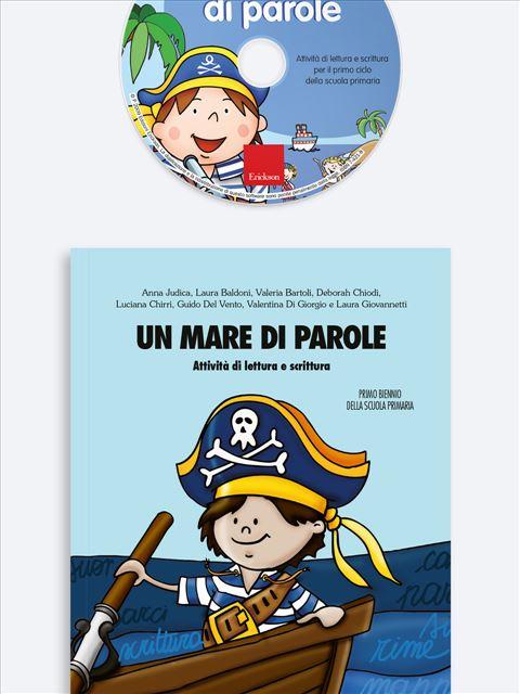 Un mare di parole - Simpatici libri per il passaggio alla scuola primaria - Erickson 3