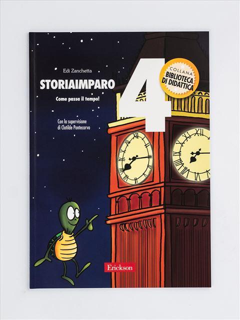 StoriaImparo 4 - StoriaImparo 5 - Libri - Erickson