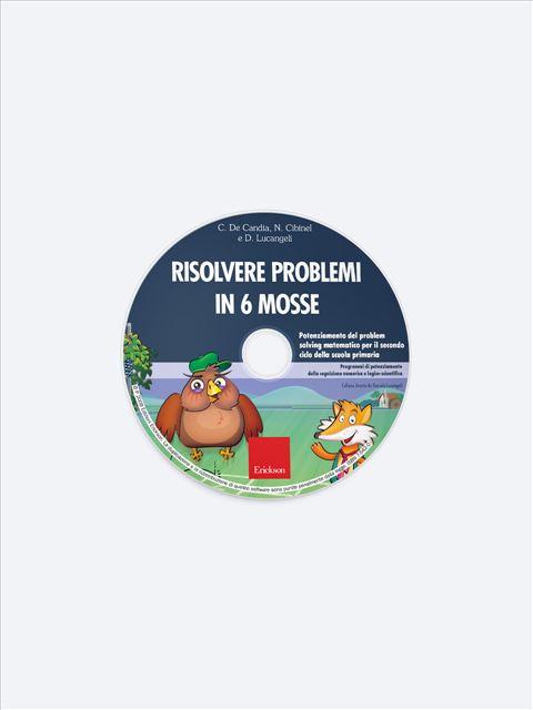Risolvere problemi in 6 mosse - Didattica metacognitiva della matematica - Libri - Erickson 3