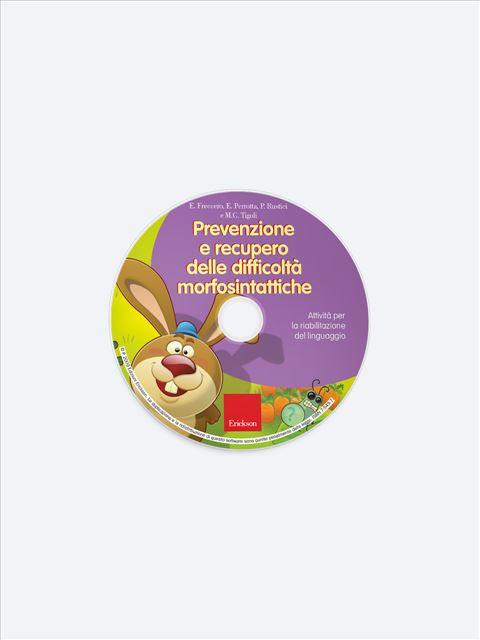 Prevenzione e recupero delle difficoltà morfosintattiche - App e software per Scuola, Autismo, Dislessia e DSA - Erickson 3