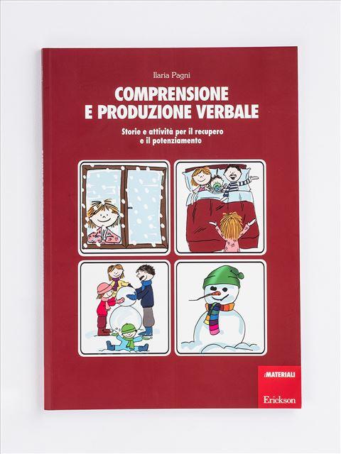 Comprensione e produzione verbale - App e software per Scuola, Autismo, Dislessia e DSA - Erickson