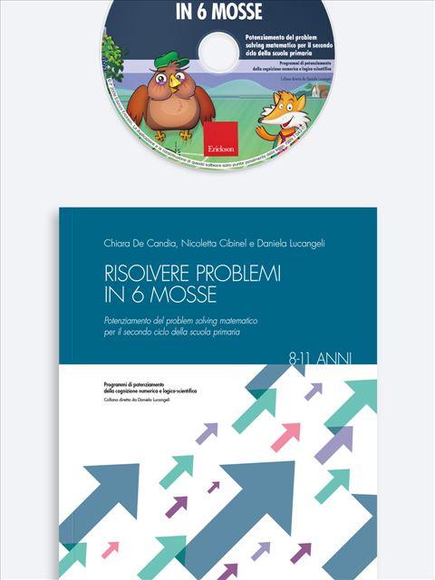 Risolvere problemi in 6 mosse - Magica-mente 1 - Libri - Erickson 2
