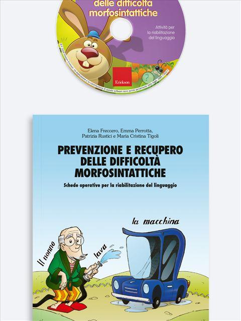 Prevenzione e recupero delle difficoltà morfosintattiche - App e software per Scuola, Autismo, Dislessia e DSA - Erickson 2