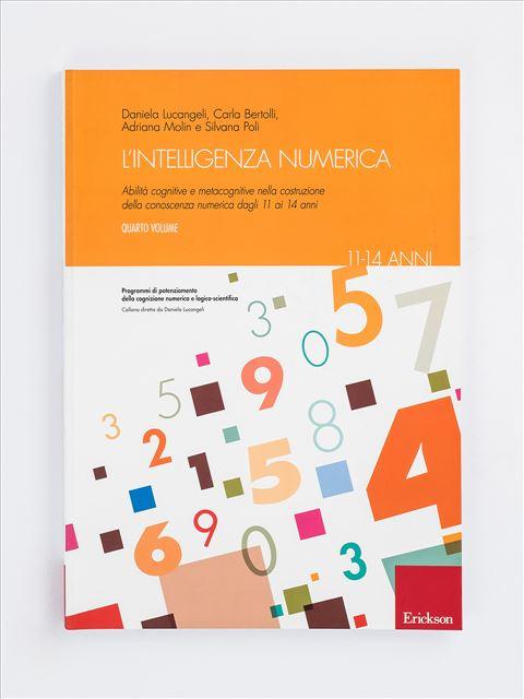 L'intelligenza numerica - Volume 4 Libro - Erickson Eshop
