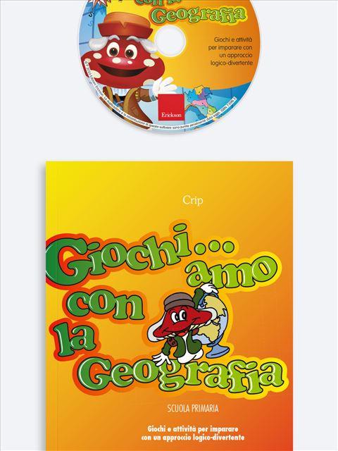 Giochi... amo con la geografia - Scuola primaria - App e software per Scuola, Autismo, Dislessia e DSA - Erickson 3